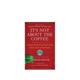 Book - It's not about the coffee