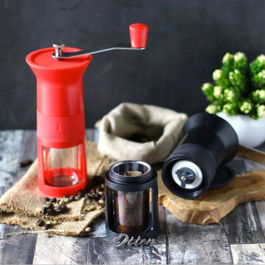 Bialetti Grinder Macinacaffe - Red
