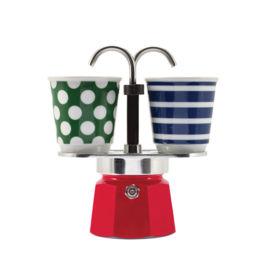 Bialetti - Mini Express Set Pop Red (2 Cups)