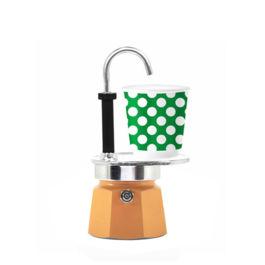 Bialetti - Mini Express Set Pop Orange (1 Cup)