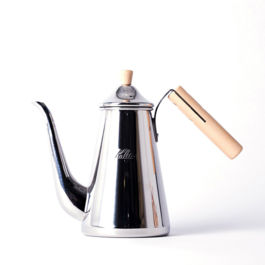 Kalita - Tsubame Drip Pot Slim Wood Handle (0.7L)