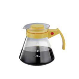 Tiamo - Coffee Server 650cc Yellow (HG2330)