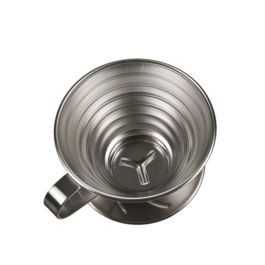 Tiamo - K02 Stainless Steel Coffee Dripper 2-4 Cups (HG5050)