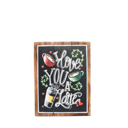 Artworks - I Love You Latte (Medium)