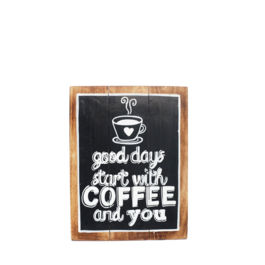Artworks - Good Days Start With Coffee and You (Medium)