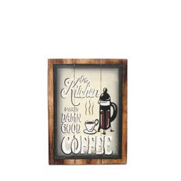 Artworks - The Kitchen Makes Damn Good Coffee (Medium)