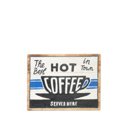Artworks - The Best Hot Coffee in Town (Medium)