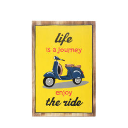 Artworks - Life is A Journey (Large - Yellow)