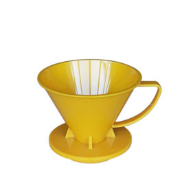 SUJI - Pourover Dripper 02 Yellow Solid