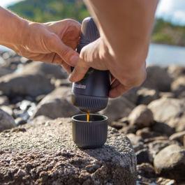 Nanopresso - Espresso Maker with Case (Grey)