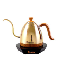 Brewista - Gooseneck Variable Kettle Electric 600ml - Specular Highlights Gold (BV382606VCNSG)