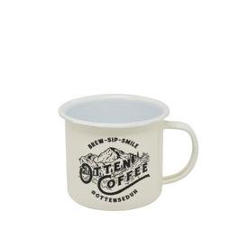 Otten - Enamel Mug (White)