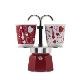 Bialetti - Mini Express Set Emotion Red (2 Cups)