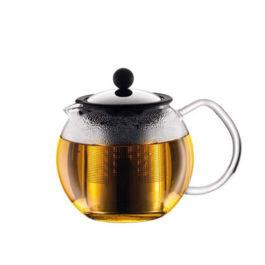 Bodum - Assam Tea Press with Stainless Steel FIlter 1.5L Silver (1802-16)