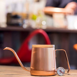 A-IDIO - Stylish Temperature Kettle 350ml (Rose Gold)