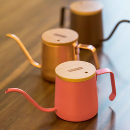 A-IDIO - Drip Coffee Kettle 240ml Macaron Series (Brown)