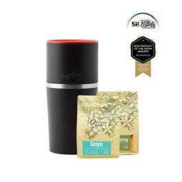 Cafflano - Klassic Coffee Maker Black (Free Arabica Gayo + Sidikalang)
