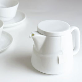 Kinto - Ridge Teabag Teapot White (23574)
