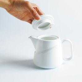 Kinto - Ridge Teabag Teapot White (23574)