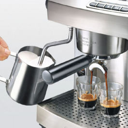 Welhome Espresso Machine Twin Thermoblock KD-210S2 Silver