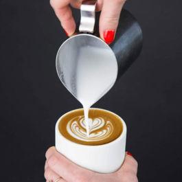 Fellow - Monty Cup Cappuccino (Matte White)