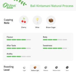 Bali Natural Process 500g Kopi Arabica