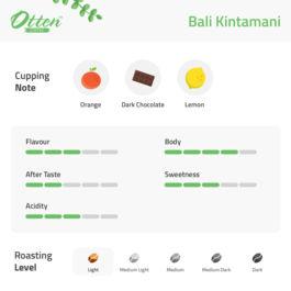 Drip Coffee 10g Arabica Bali Kintamani (4 Sachet)