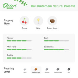Drip Coffee 10g Arabica Bali Natural Process (4 Sachet)