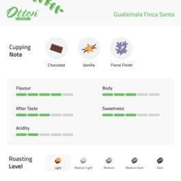Guatemala Finca Santa 200g Kopi Arabica