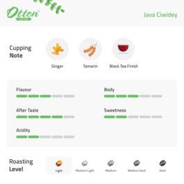 Drip Coffee 10g Arabica Java Ciwidey (4 Sachet)