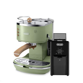 Delonghi - Icona Vintage ECOV 311.GR + Coffee Grinder KG79