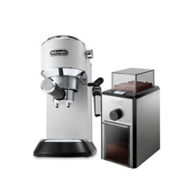 Delonghi - Dedica Style EC 685.W + Coffee Grinder KG89