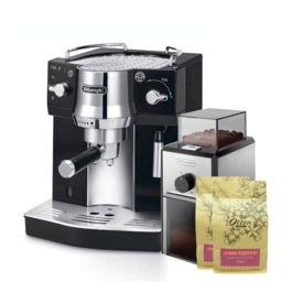 Delonghi - Espresso Machine EC 820.B + Coffee Grinder KG89