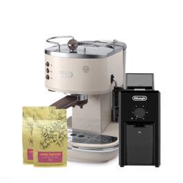 Delonghi - Icona Vintage ECOV 311.BG + Coffee Grinder KG79