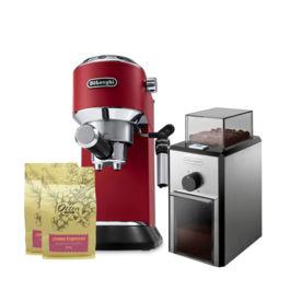Delonghi - Dedica Style EC 685.R + Coffee Grinder KG89
